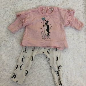 Jessica Simpson baby 2pc Outfit